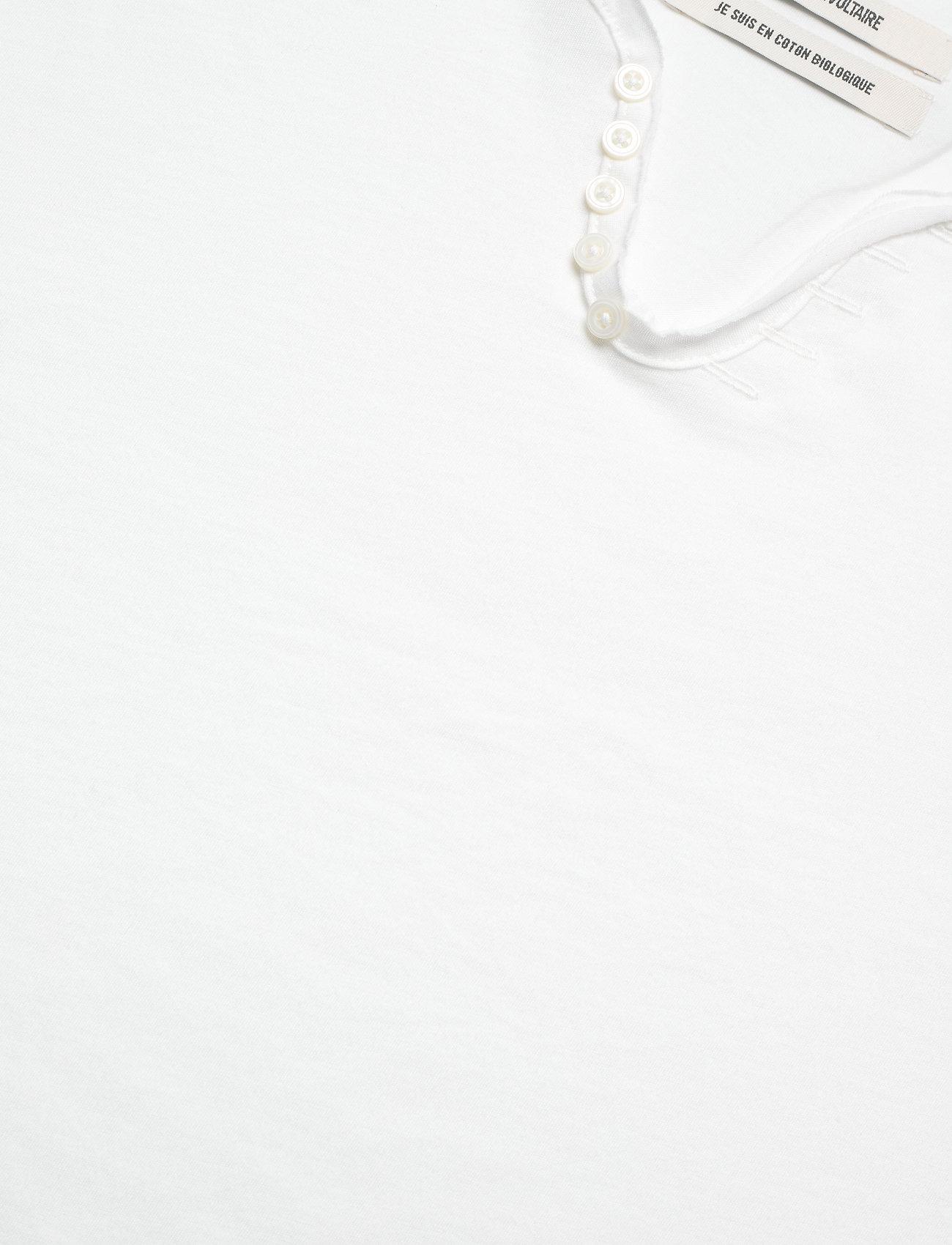 Zadig & Voltaire - MONASTIR MC ECO TUNISIEN MC ECOFRIENDLY - basic t-shirts - cream - 2