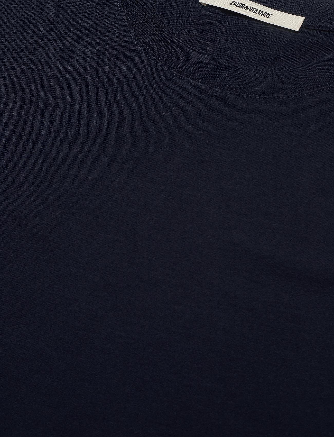 Zadig & Voltaire - TOMMY HC ARROW TEE-SHIRT PRINT ARROW SLEEVE - basic t-shirts - navy blue - 2