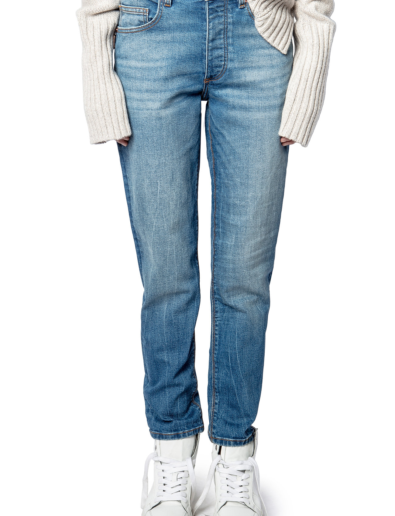 Zadig & Voltaire - MAMMA DENIM ECO LIGHT DENIM - straight jeans - light blue - 0