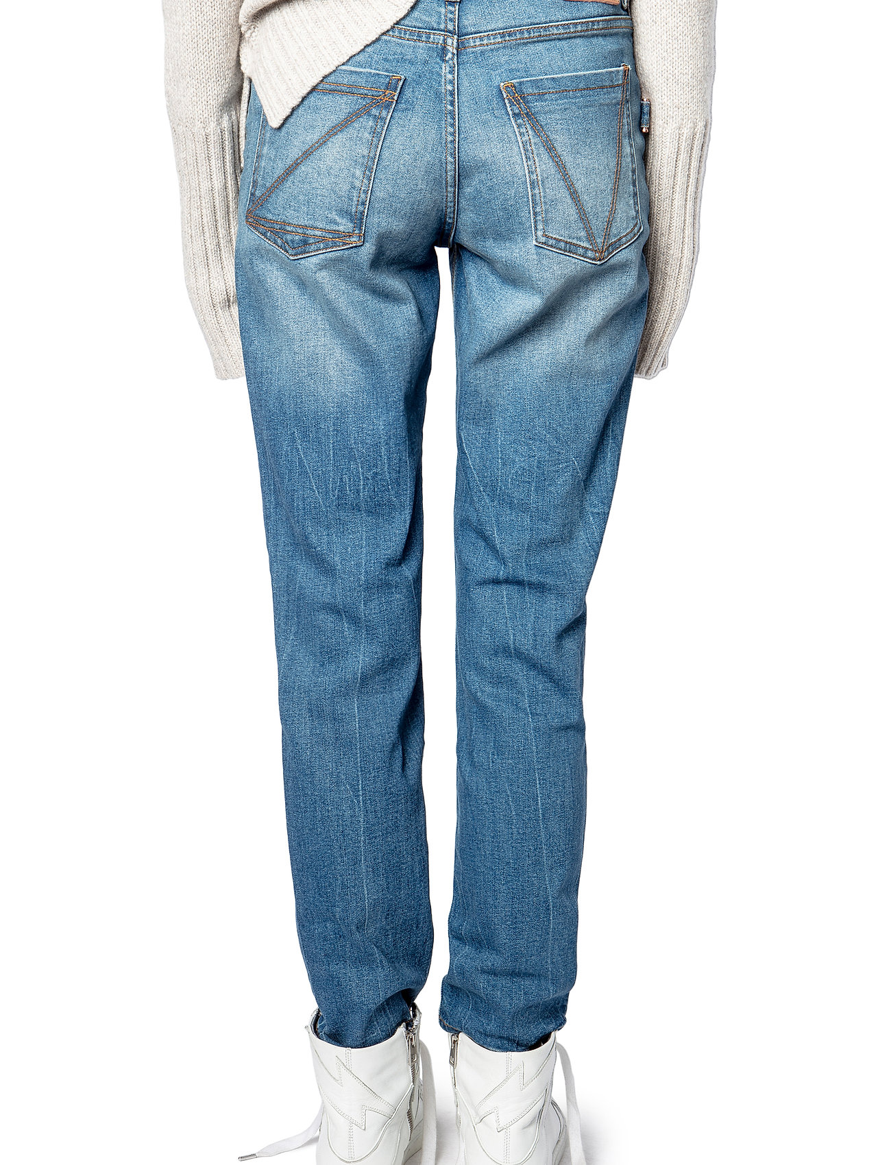 Zadig & Voltaire - MAMMA DENIM ECO LIGHT DENIM - straight jeans - light blue - 5