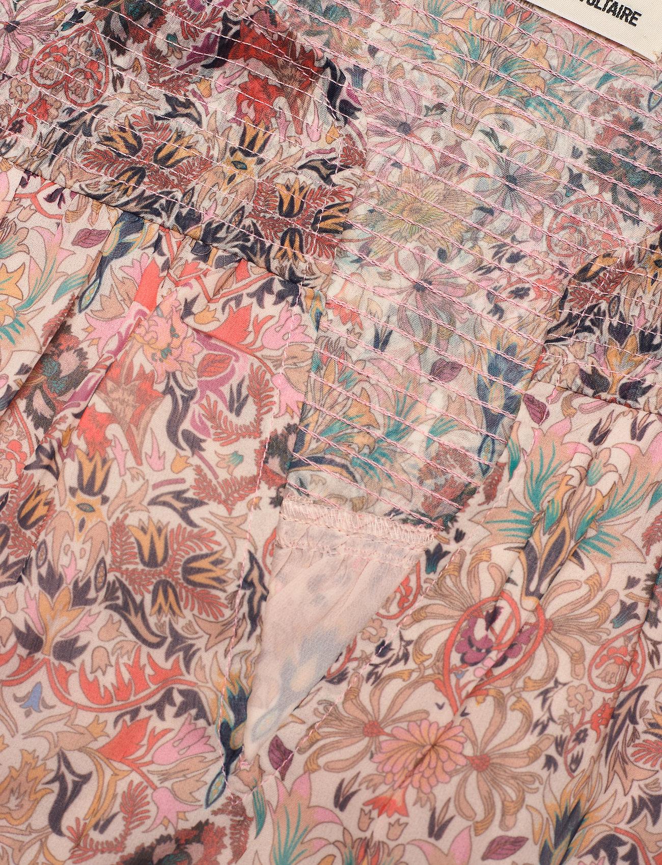 Zadig & Voltaire - RAYA MOUSSELINE MINI KALEIDO DRESS - sommerkjoler - vanilla - 3