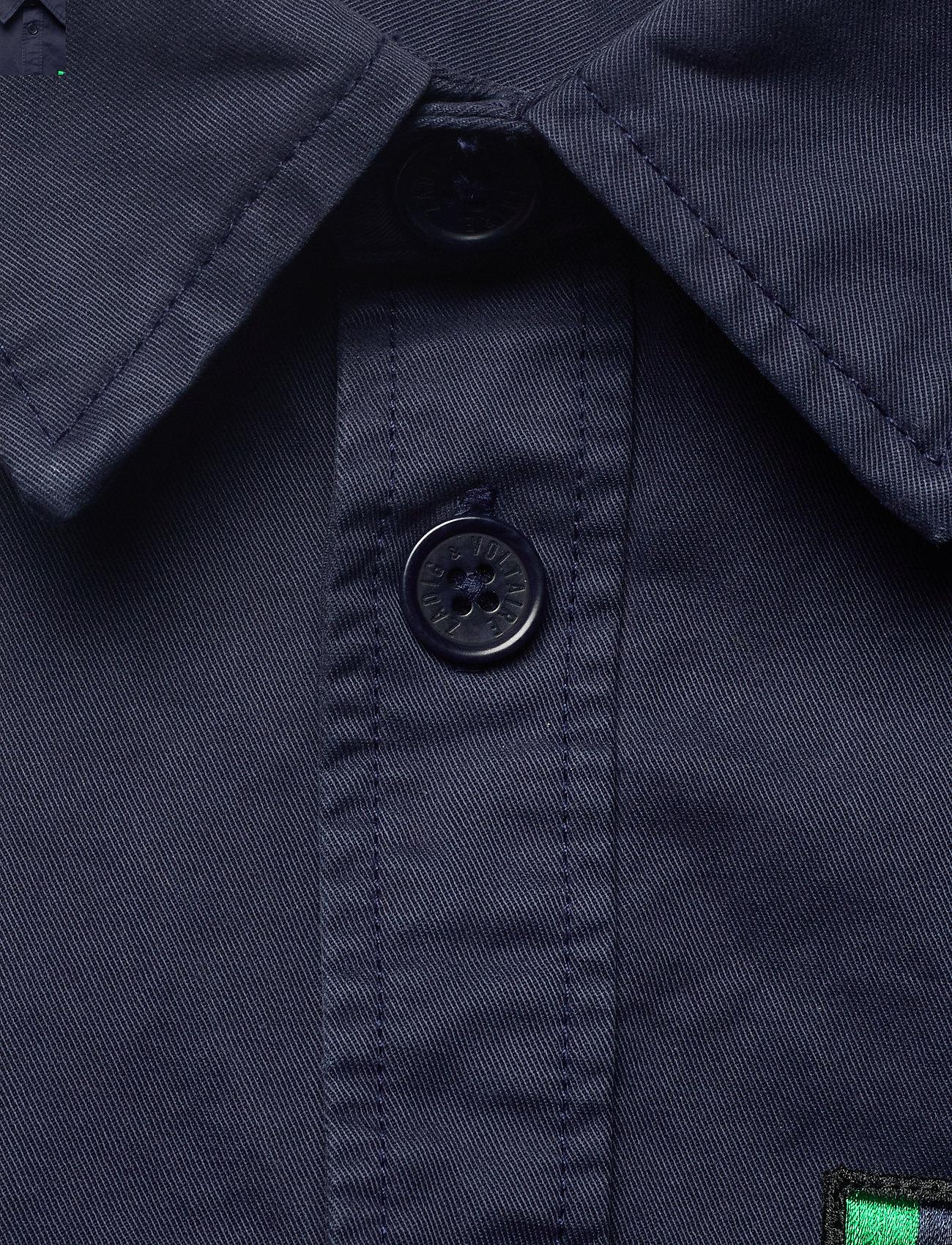 Zadig & Voltaire - SERGE MILI DYE SHIRT - tøj - ink - 3