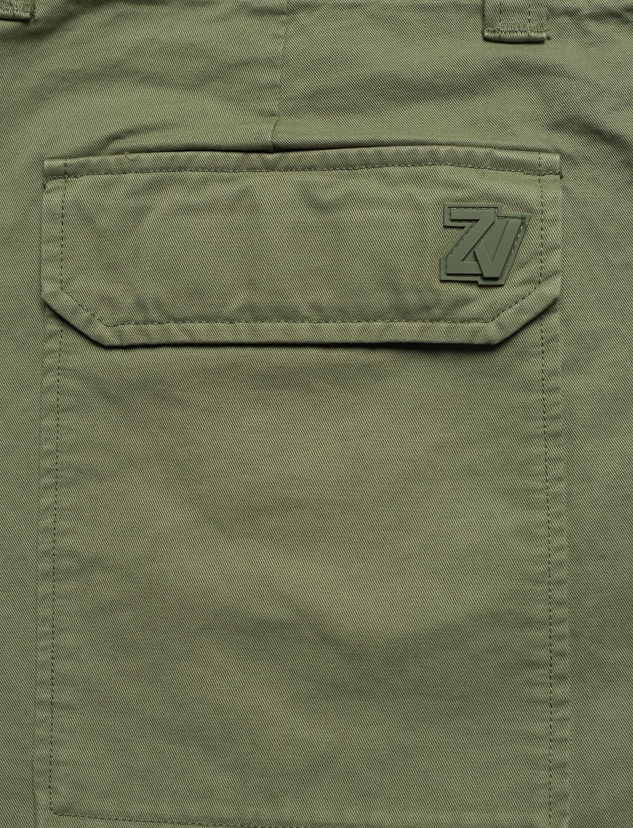 Zadig & Voltaire - PIERS MILI DYE SHORTS - cargo shorts - thym - 4