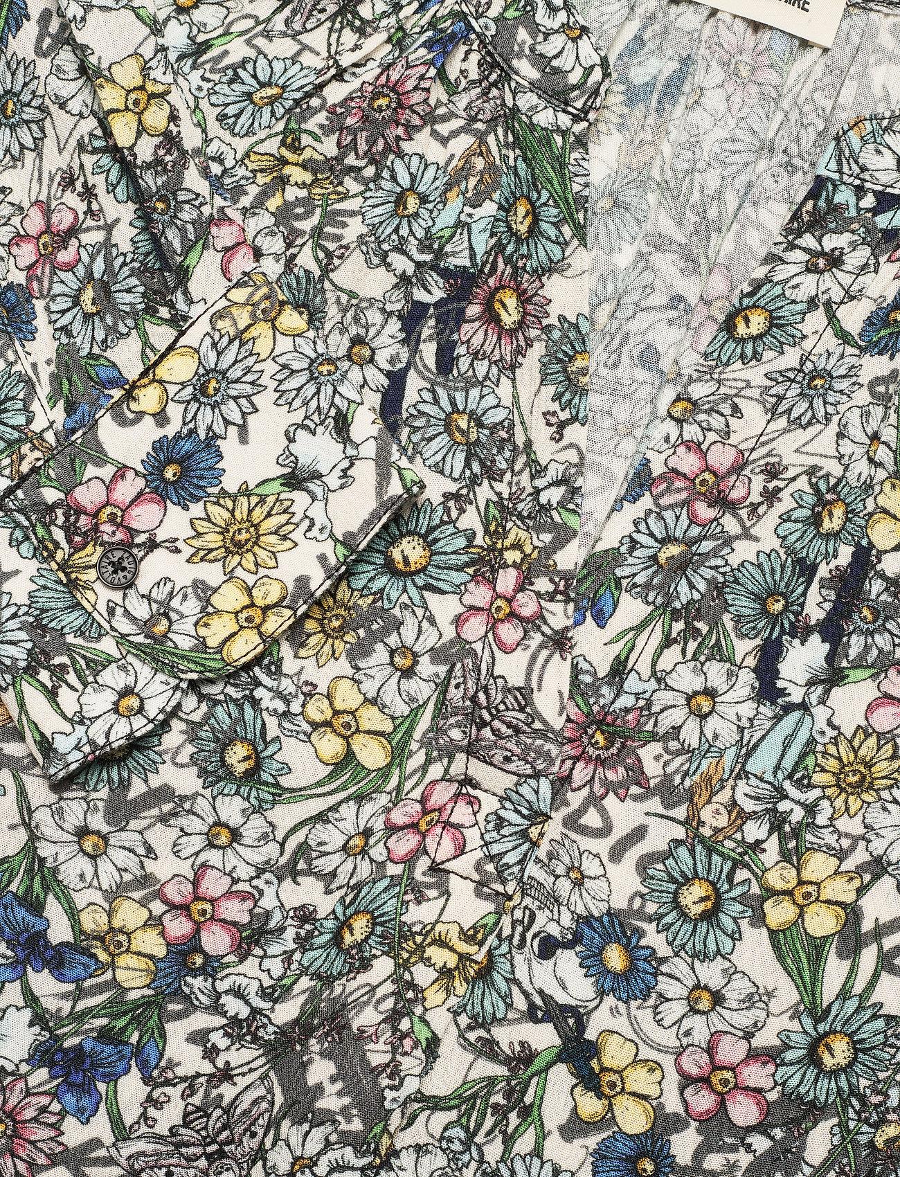 Zadig & Voltaire - TINK CRINKLE FLOWER SHIRT - langærmede bluser - judo - 2