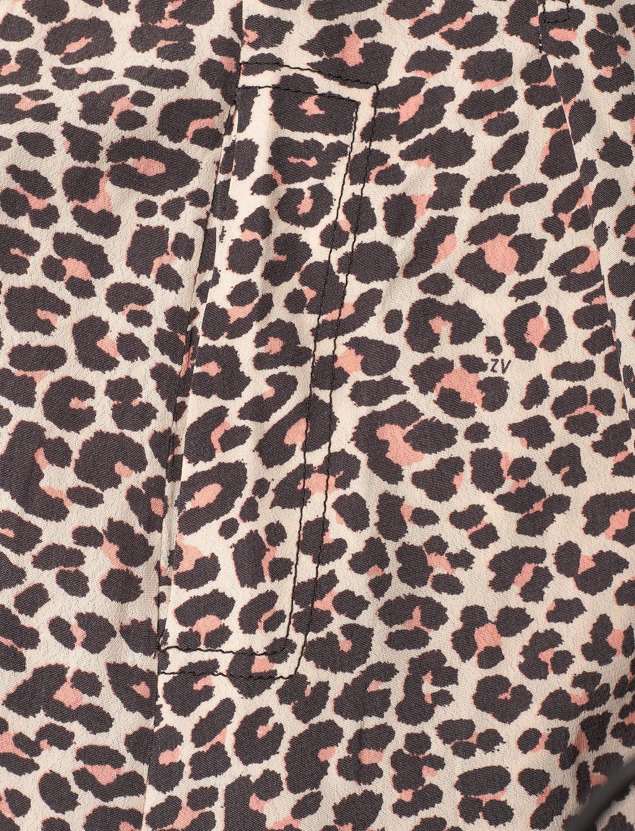 Zadig & Voltaire - REVO LEO GEO DRESS - skjortekjoler - coral - 4