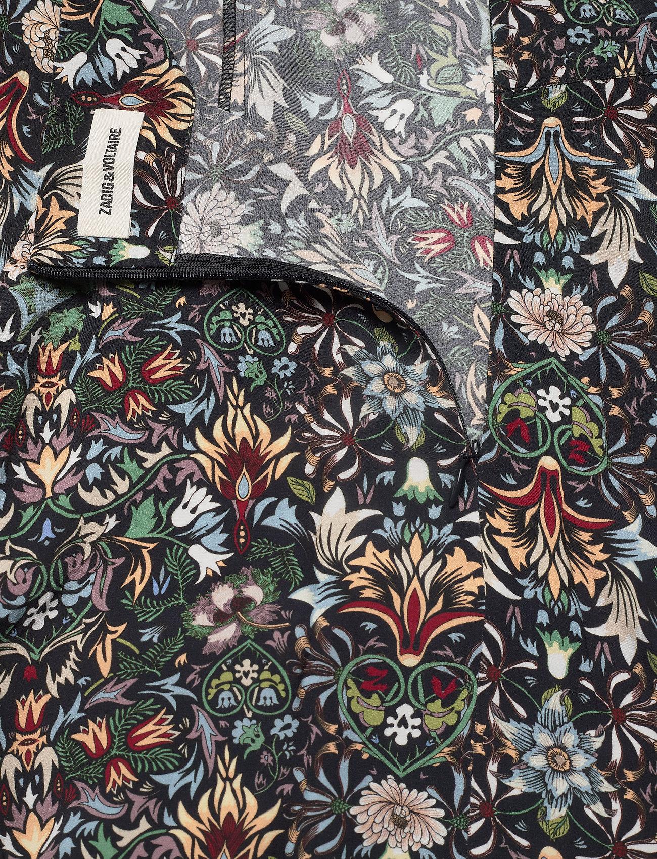 Zadig & Voltaire - JOYO KALEIDO SKIRT - maxi nederdele - black - 4