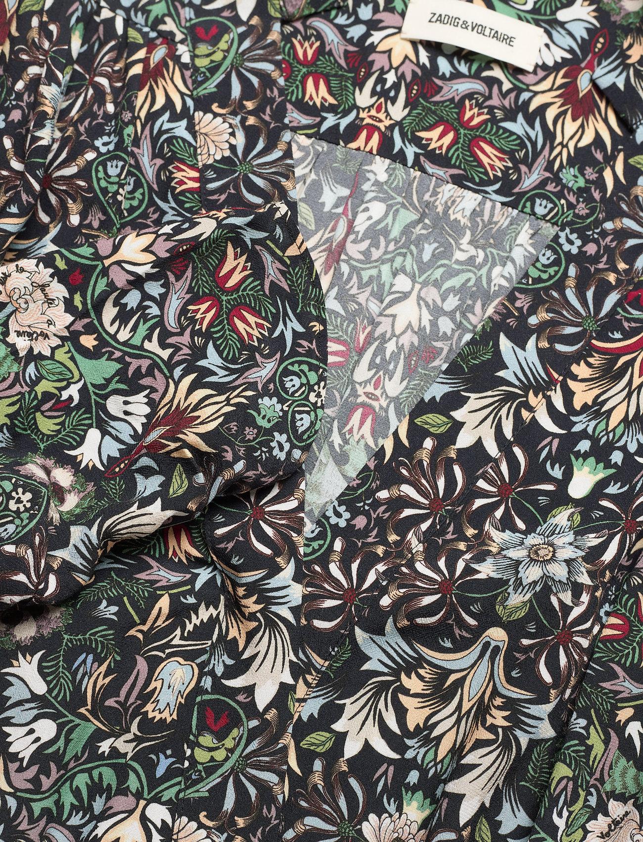 Zadig & Voltaire - REVEAL KALEIDO DRESS - hverdagskjoler - black - 3