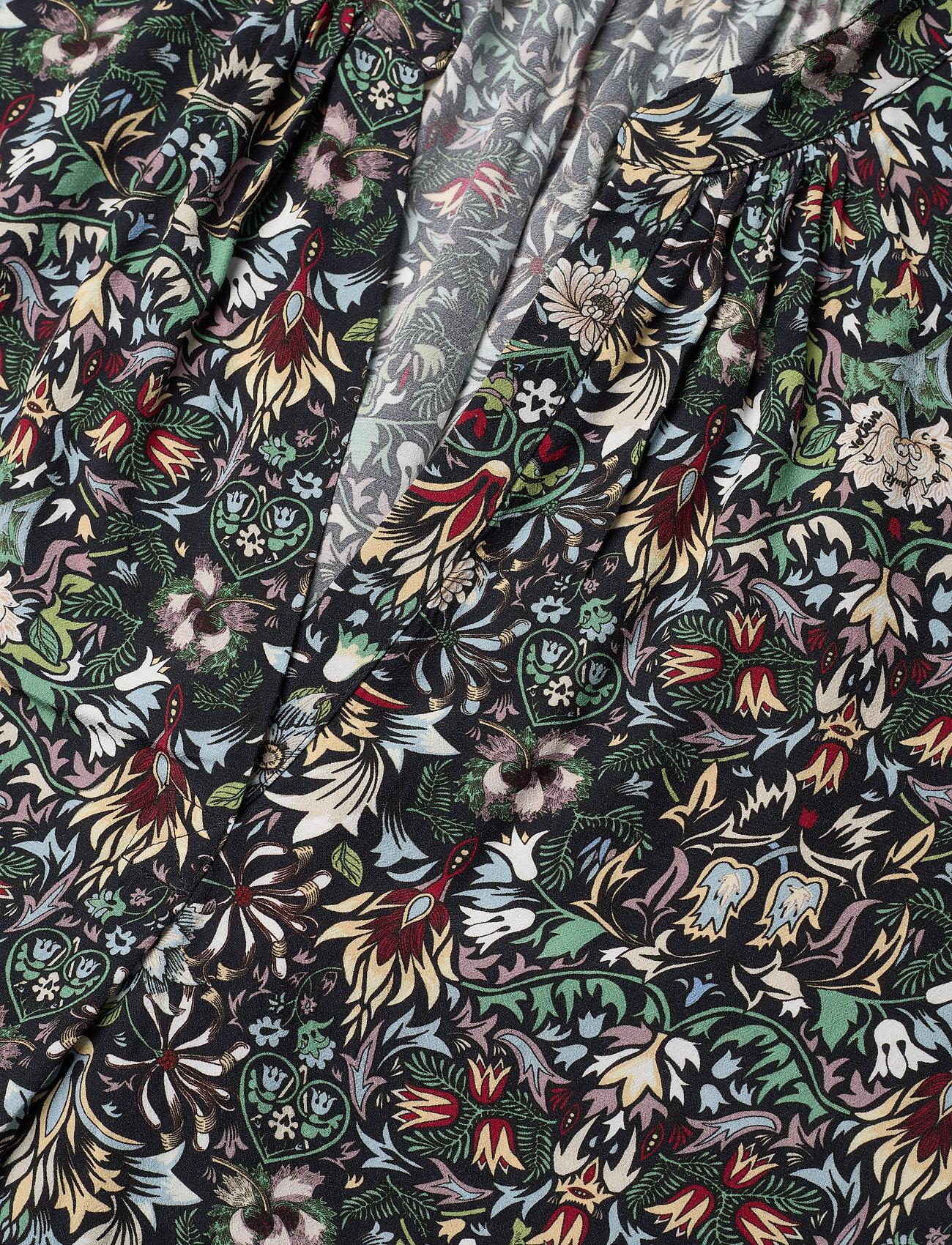 Zadig & Voltaire - TINK KALEIDO TUNIC - langærmede bluser - black - 3