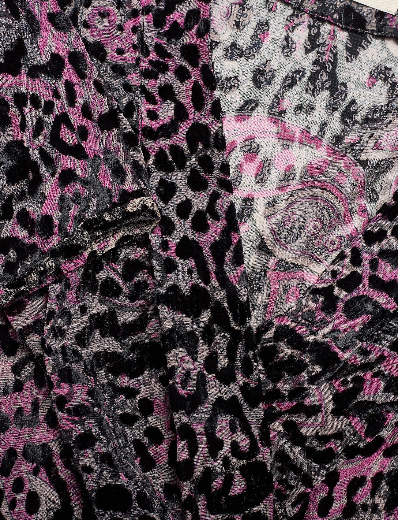 Zadig & Voltaire - ROGERS BURNOUT VELVET DRESS - festkjoler - black - 3