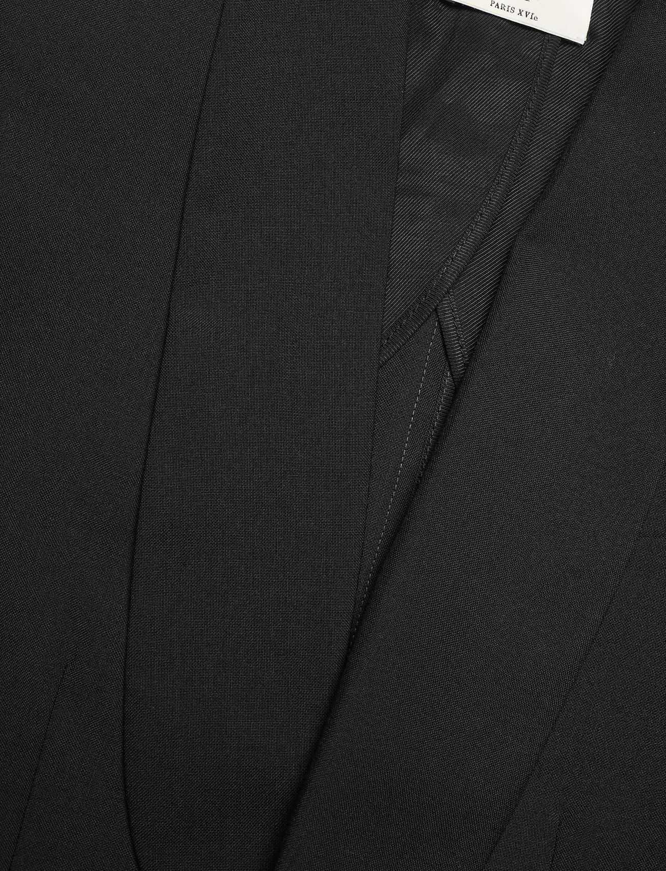Zadig & Voltaire - DATE WOOL ECO JACKET - oversized blazere - black - 2