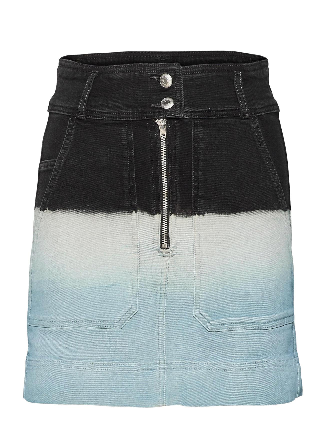Jima Denim Deep Dye Skirt Knælang Nederdel Blå Zadig & Voltaire