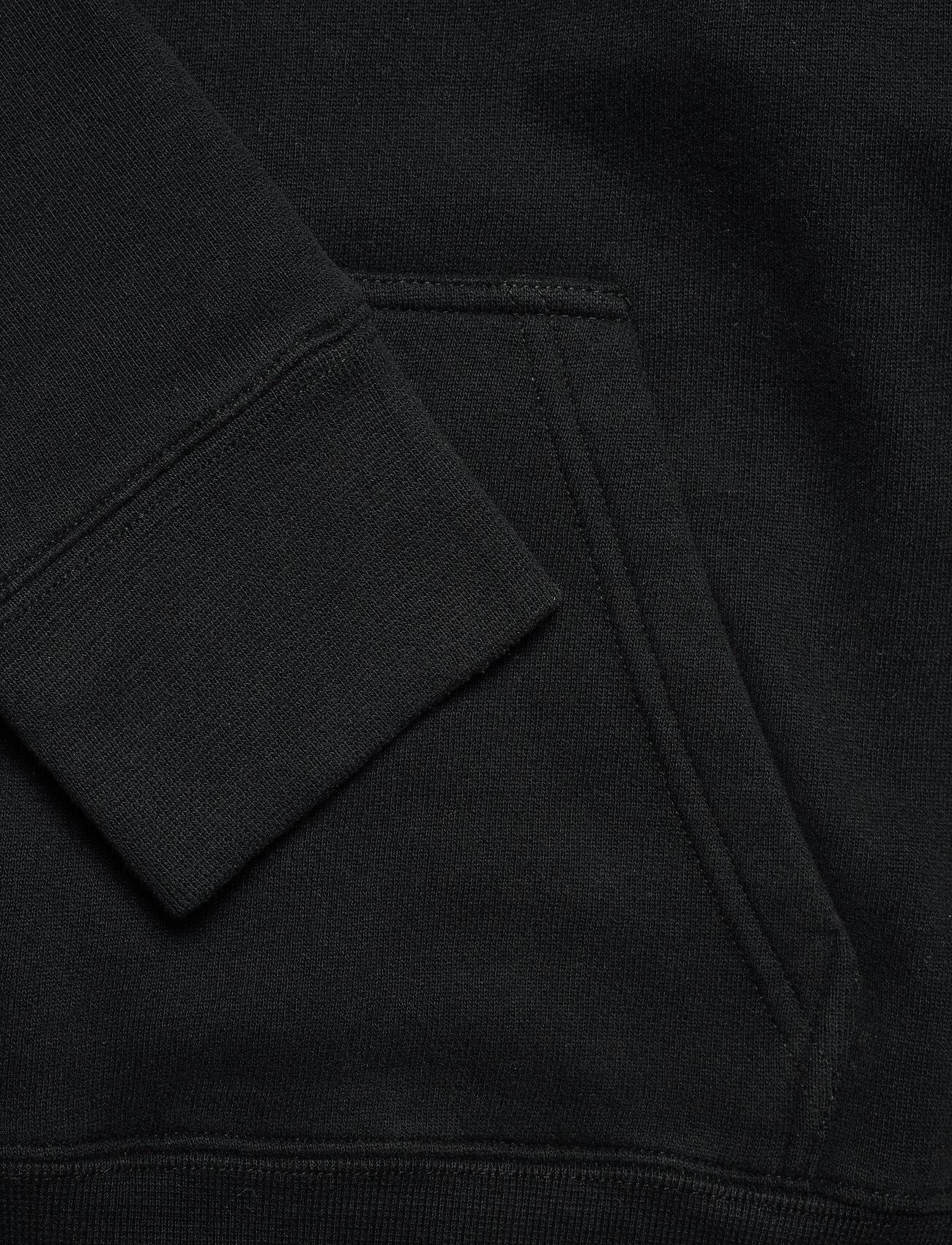 Zadig & Voltaire - SPENCER PHOTOPRINT COTTON HOODIE - sweatshirts & hættetrøjer - black - 4