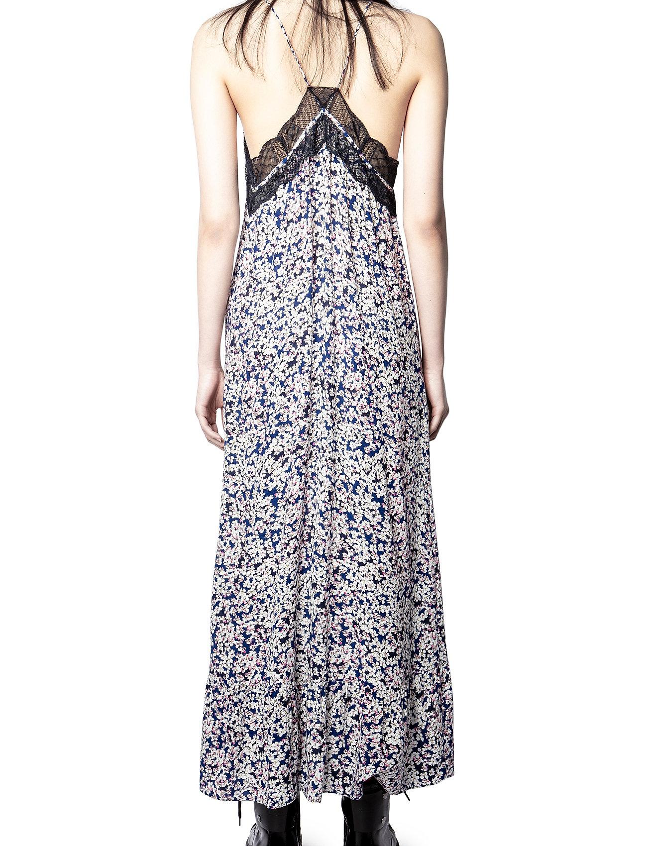 Zadig & Voltaire - REVEL CDC PRINT BEGONIA DRESS - sommerkjoler - bleu de chine - 4