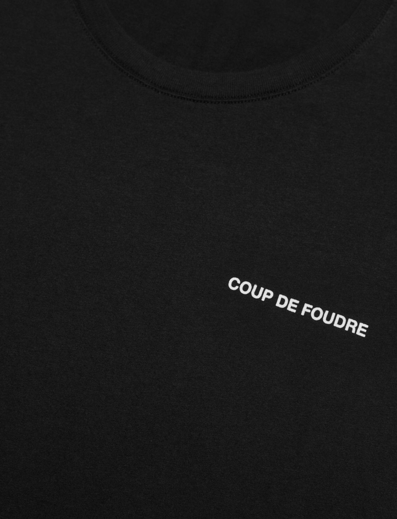 Zadig & Voltaire TED HC PHOTOPRINT CDF TSHIRT PRINT DOS - T-skjorter BLACK - Menn Klær