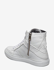 Zadig & Voltaire - ZV1747 HIGH FLASH SHOES - høje sneakers - white - 2