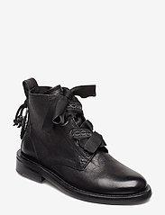 Zadig & Voltaire - LAUREEN ROMA SHOES - flade ankelstøvler - black - 0