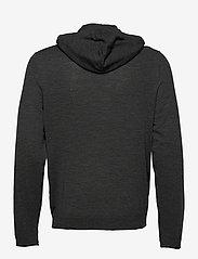 Zadig & Voltaire - CLASH M LONG SLEEVE HOODIE MERINOS - basic sweatshirts - grey - 1