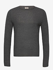 TEISS CP LONG SLEEVED SWEATER FEATHER CACHEMIRE - GREY