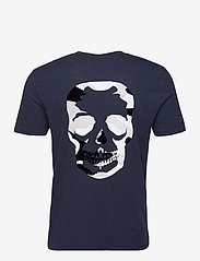 Zadig & Voltaire - STOCKHOLM COTTON SLUB - basic t-shirts - navy blue - 2