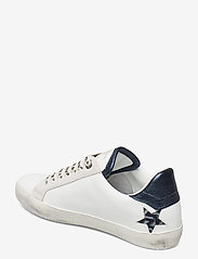 Zadig & Voltaire - ZADIG USED STARS MONOGRAM - lave sneakers - blanc acier - 2