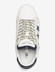 Zadig & Voltaire - ZADIG USED STARS MONOGRAM - lave sneakers - blanc acier - 3