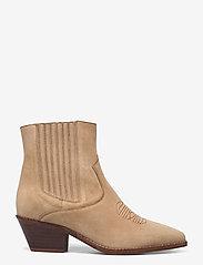 Zadig & Voltaire - TYLER SUEDE ELASTIC - ankelstøvler med hæl - down - 1