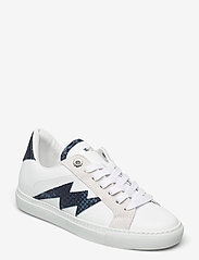 Zadig & Voltaire - ZV1747 WILD + SMOOTH CALFSKIN - lave sneakers - blanc deep - 0