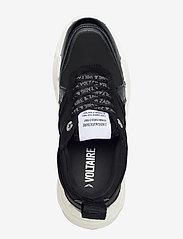 Zadig & Voltaire - FUTURE EMBOSSED CROCO + MIX NEOPRENE - chunky sneakers - black - 3