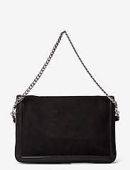 Zadig & Voltaire - ROCK NOVEL GRAINED LEATHER + SUEDE - tasker - black - 1