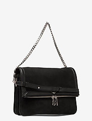 Zadig & Voltaire - ROCK NOVEL GRAINED LEATHER + SUEDE - tasker - black - 2