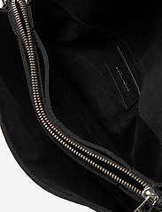 Zadig & Voltaire - ROCK NOVEL GRAINED LEATHER + SUEDE - tasker - black - 3