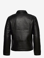 Zadig & Voltaire - LUK BONDED LEATHER JACKET - læderjakker - black - 2