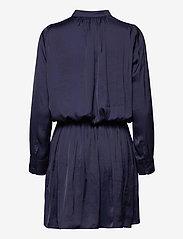 Zadig & Voltaire - RINKA SATIN DRESS - hverdagskjoler - ink - 2