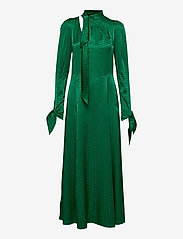 Zadig & Voltaire - BOW JAC ZV DRESS - aftenkjoler - emerald - 0