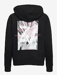Zadig & Voltaire - SPENCER PHOTOPRINT COTTON HOODIE - sweatshirts & hættetrøjer - black - 2