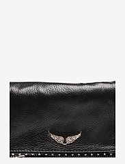 Zadig & Voltaire - ROCK NANO GRAINED LEATHER + STUDS - crossbody bags - black - 3