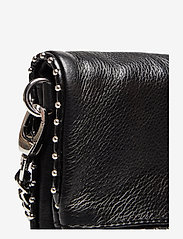 Zadig & Voltaire - ROCK NANO GRAINED LEATHER + STUDS - crossbody bags - black - 4