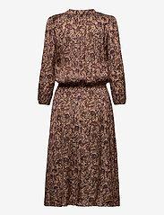 Zadig & Voltaire - ROWDY SATIN THORN ROBE - midi kjoler - mult - 1