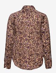 Zadig & Voltaire - TUSKA SATIN THORN CHEMISE - langærmede skjorter - mult - 1