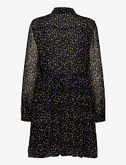 Zadig & Voltaire - RAPIDY CRINKLE PRINT ETOILES ROBE - midi kjoler - navy blue - 1