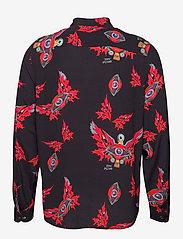 Zadig & Voltaire - STAN VISCOSE PRINT EAGLE EYES CHEMISE - oxford skjorter - black - 1