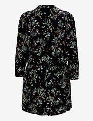 Zadig & Voltaire - REVEAL VELVET BLOSSOM DRESS - festkjoler - black - 1