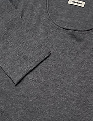 Zadig & Voltaire - TEISS CP LONG SLEEVED SWEATER FEATHER CACHEMIRE - basic strik - grey - 2