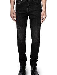 Zadig & Voltaire - DAVID ECO ANTHRA JEANS - slim jeans - grey - 0