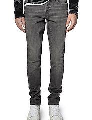 Zadig & Voltaire - DAVID ECO GRIS JEANS - slim jeans - grey - 0
