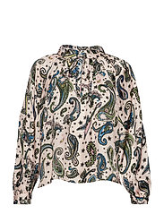 theresa print paisley tunique - COROLLE