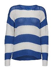 kansas stripes c dlx pull - DAISY BLUE