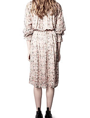 Zadig & Voltaire - RAYA MOUSSELINE MINI KALEIDO DRESS - sommerkjoler - vanilla - 4