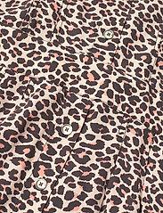 Zadig & Voltaire - REVO LEO GEO DRESS - skjortekjoler - coral - 6