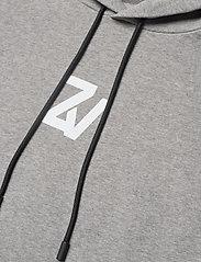 Zadig & Voltaire - STORM MO PHOTOPRINT ZV FACTORY SWEATSHIRT CAPSULE - basic sweatshirts - gris chine clair - 2